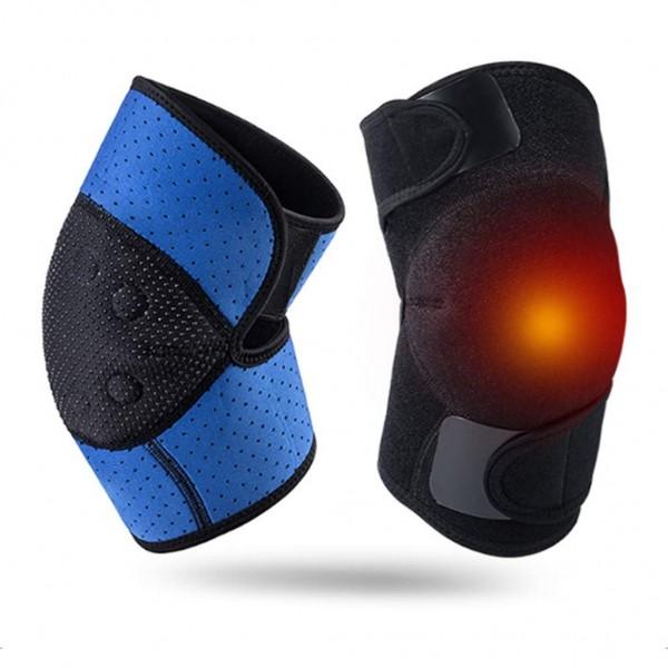 Kniebandage mit je 8 Heilmagneten und verbesserter Passform