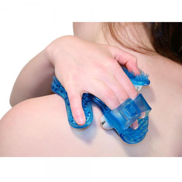 Massagehandschuh Schultermassage
